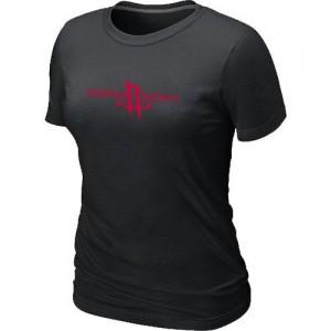 Tee-Shirt NBA Houston Rockets Noir Big & Tall - Femme