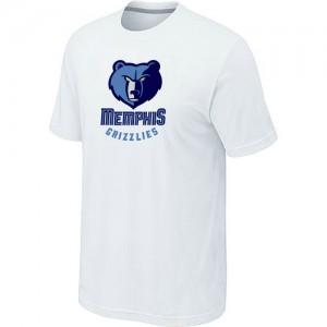 Memphis Grizzlies Big & Tall Blanc Tee-Shirt d'équipe de NBA Peu co?teux - pour Homme