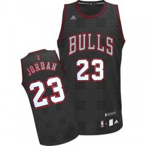 Maillot NBA Swingman Michael Jordan #23 Chicago Bulls Rhythm Fashion Noir - Homme