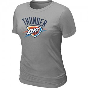 Tee-Shirt NBA Gris Oklahoma City Thunder Big & Tall Femme
