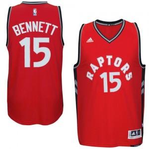 Maillot NBA Swingman Anthony Bennett #15 Toronto Raptors climacool Rouge - Homme