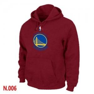 Golden State Warriors Sweat d'équipe de NBA - Rouge pour Homme