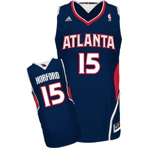 Maillot NBA Swingman Al Horford #15 Atlanta Hawks Road Bleu marin - Homme