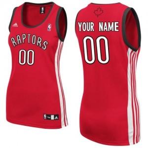 Toronto Raptors Swingman Personnalisé Road Maillot d'équipe de NBA - Rouge pour Femme