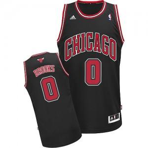 Maillot Adidas Noir Alternate Swingman Chicago Bulls - Aaron Brooks #0 - Homme
