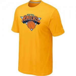 New York Knicks Big & Tall Tee-Shirt d'équipe de NBA - Jaune pour Homme