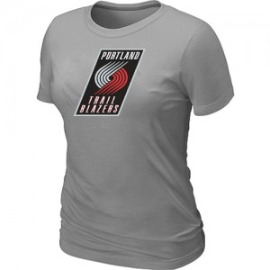 Tee-Shirt NBA Portland Trail Blazers Big & Tall Gris - Femme
