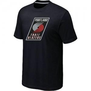 Portland Trail Blazers Big & Tall Tee-Shirt d'équipe de NBA - Noir pour Homme