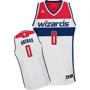 Maillot Swingman Washington Wizards NBA Home Blanc - #0 Gilbert Arenas - Homme
