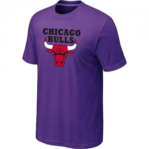 Chicago Bulls Big & Tall Tee-Shirt d'équipe de NBA - Violet pour Homme