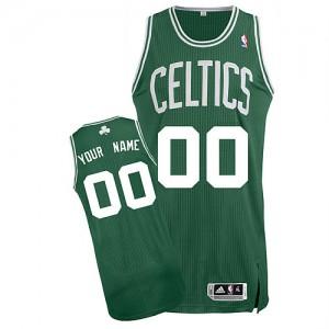 Boston Celtics Personnalisé Adidas Road Vert (No Blanc) Maillot d'équipe de NBA Prix d'usine - Authentic pour Enfants