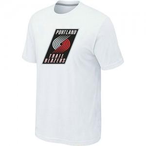 Portland Trail Blazers Big & Tall Tee-Shirt d'équipe de NBA - Blanc pour Homme