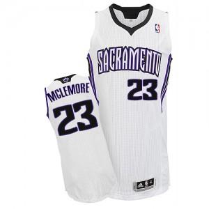 Sacramento Kings #23 Adidas Home Blanc Authentic Maillot d'équipe de NBA sortie magasin - Ben McLemore pour Homme
