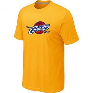 Cleveland Cavaliers Big & Tall Tee-Shirt d'équipe de NBA - Jaune pour Homme