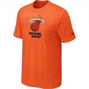 Tee-Shirt NBA Miami Heat Big & Tall Orange - Homme
