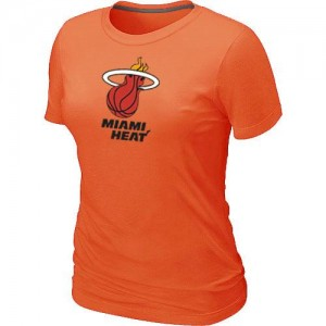 Tee-Shirt NBA Orange Miami Heat Big & Tall Femme