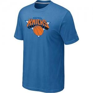 Tee-Shirt NBA Bleu clair New York Knicks Big & Tall Homme