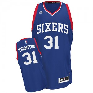 Philadelphia 76ers Hollis Thompson #31 Alternate Swingman Maillot d'équipe de NBA - Bleu royal pour Homme