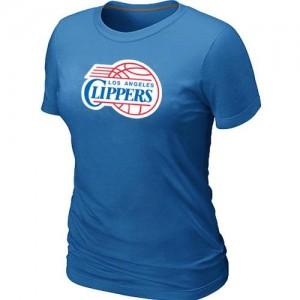 T-shirt principal de logo Los Angeles Clippers NBA Big & Tall Bleu clair - Femme