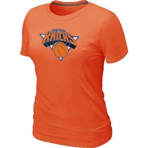 Tee-Shirt Orange Big & Tall New York Knicks - Femme