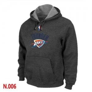 Oklahoma City Thunder Sweat d'équipe de NBA - Gris foncé pour Homme