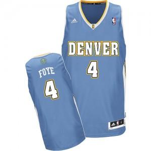 Maillot Swingman Denver Nuggets NBA Road Bleu clair - #4 Randy Foye - Homme